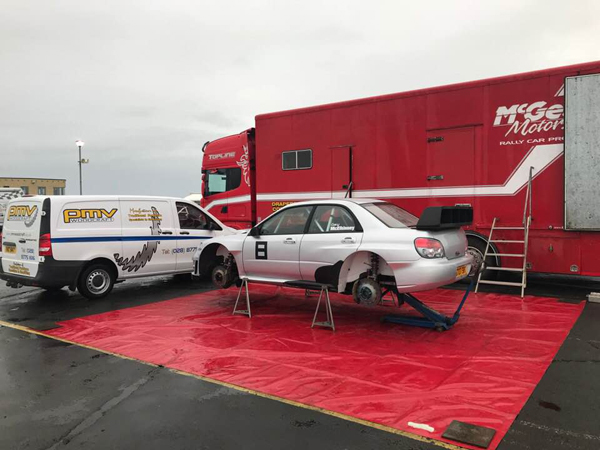 Paddy McVeigh & Gary McElhinney - Subaru Impreza S12b WRC prepared by McGeehan Motorsport