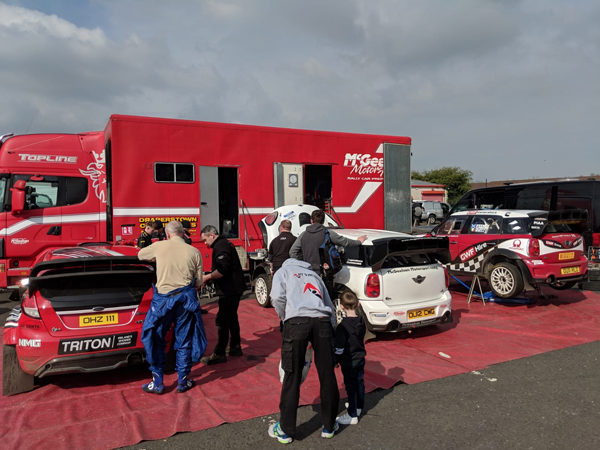 McGeehan Motorsport Service Area