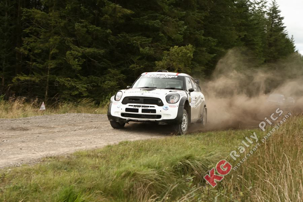Derek & Mark McGeehan lead the NI Rally Championship going to Enniskillen