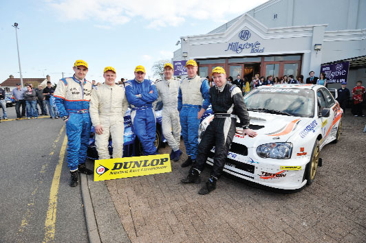 Tim McNulty wins Monaghan Stages Rally 2011
